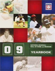 2009 Baseball Hall of Fame yearbook (Rickey Henderson Jim Rice)
