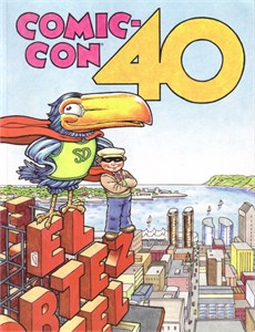 2009 San Diego Comic-Con 40th Anniversary Souvenir Book program