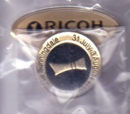 2008 LPGA Ricoh Women's British Open ball marker (Jiyai Shin)