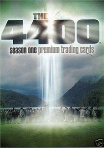 4400 Season One Inkworks 2006 Comic-Con promo card P-SD2006