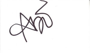 Abi Ann autograph or cut signature