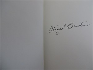 Abigail Breslin autographed This May Sound Crazy hardcover book
