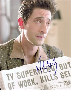 Adrien Brody autographed Hollywoodland 8x10 photo
