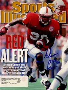 Ahman Green autographed Nebraska Cornhuskers 1996 Sports Illustrated