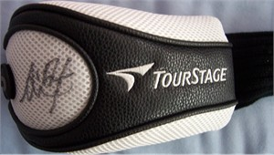 Ai Miyazato autographed TourStage golf head cover