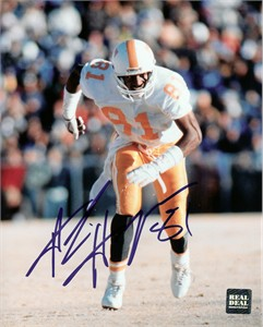 Alvin Harper autographed Tennessee Volunteers 8x10 photo