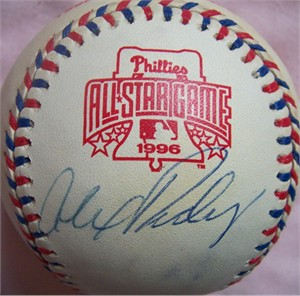 Alex Rodriguez autographed 1996 All-Star Game baseball