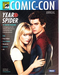 Amazing Spider-Man movie 2012 Comic-Con magazine MINT (Andrew Garfield & Emma Stone)