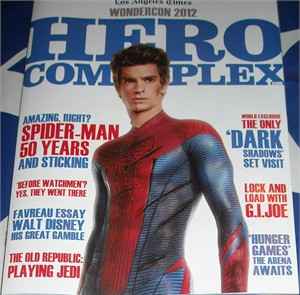 Amazing Spider-Man movie 2012 Wondercon Hero Complex LA Times magazine MINT (Andrew Garfield)