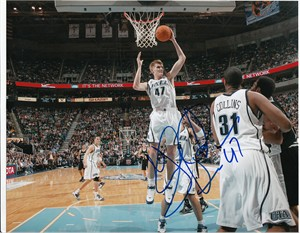 Andrei Kirilenko autographed Utah Jazz 8x10 photo