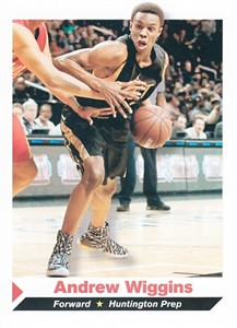 Andrew Wiggins 2013 Sports Illustrated for Kids pre Rookie Card