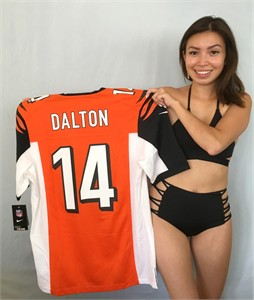 Andy Dalton Cincinnati Bengals authentic Nike Game On Field orange MEDIUM jersey NEW WITH TAGS