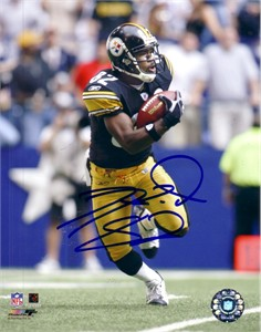 Antwaan Randle El autographed Pittsburgh Steelers 8x10 photo