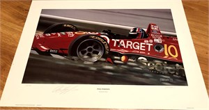 Arie Luyendyk autographed Pole Position lithograph #244/750