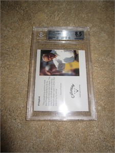 Arnold Palmer 2006 Callaway Golf promo card graded BGS 8.5 (NrMt-Mt+)