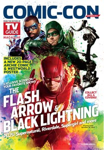 Arrow Black Lightning Flash 2017 Comic-Con TV Guide magazine
