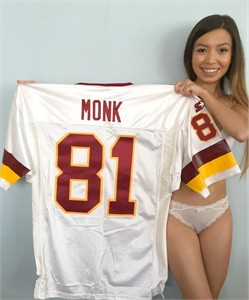 Art Monk Washington Redskins authentic 1993 Starter Pro Line game model jersey