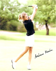 Azahara Munoz autographed 8x10 golf photo