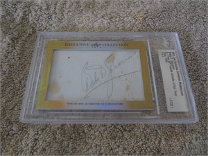 Babe Didrikson Zaharias certified autograph 2015 Leaf Executive Masterpiece Cut Signature card 1/1