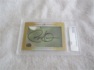 Barack Obama 2017 Leaf Masterpiece Cut Signature certified autograph card 1/1 (JSA)