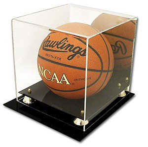 Basketball deluxe acrylic display case