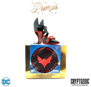 Batwoman DC Pumps black and red Cryptozoic 2018 San Diego Comic-Con EXCLUSIVE (ONLY 300 MADE)