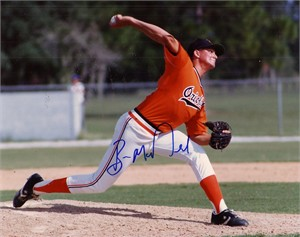 Ben McDonald autographed Baltimore Orioles 8x10 photo
