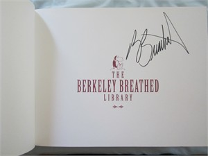 Berke Breathed autographed Opus Complete Library coffee table book