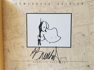 Berke Breathed autographed Bloom County Complete Library Volume 2 book (OPUS remarqued) #10/100