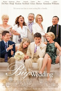 The Big Wedding mini movie poster (Robert De Niro Katherine Heigl Diane Keaton Amanda Seyfried)