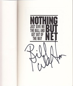 Bill Walton autographed Nothing But Net first edition hardcover book