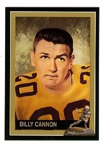 Billy Cannon LSU Tigers 1959 Heisman Trophy winner card