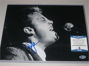 Billy Joel autographed Piano Man 11x14 inch concert photo (Beckett Authenticated BAS)