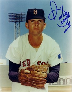 Bill (Spaceman) Lee autographed 8x10 Boston Red Sox photo
