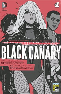 Black Canary 2015 San Diego Comic-Con exclusive variant #1 DC comic book