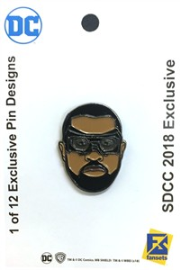 Black Lightning 2018 San Diego Comic-Con exclusive DC pin