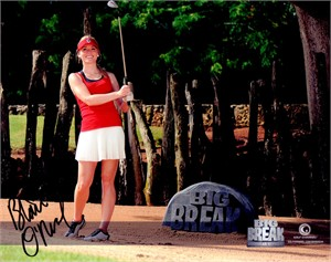 Blair O'Neal autographed Big Break 8x10 golf photo