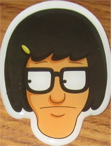 Bob's Burgers 2013 Comic-Con promo Tina button or pin