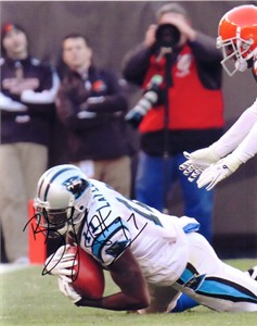 Brandon LaFell autographed Carolina Panthers 8x10 photo