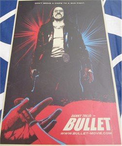 Bullet mini movie poster (Danny Trejo)