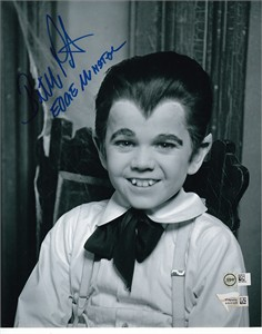 Butch Patrick autographed The Munsters 8x10 portrait photo inscribed Eddie Munster
