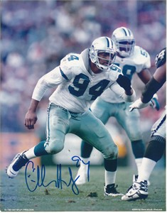 Charles Haley autographed Dallas Cowboys 8x10 photo