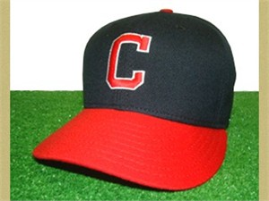 Cleveland Indians 1978-1985 throwback game model fitted cap NEW