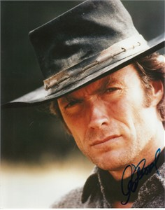 Clint Eastwood autographed The Good the Bad and the Ugly 8x10 movie photo (JSA)