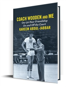Coach Wooden and Me hardcover first edition book by Kareem Abdul-Jabbar