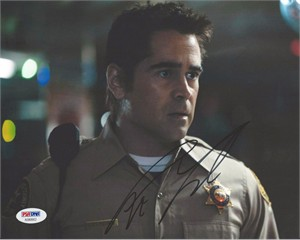 Colin Farrell autographed Pride and Glory 8x10 movie photo (PSA/DNA)