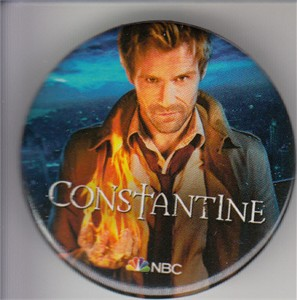 Constantine 2014 Comic-Con button or pin