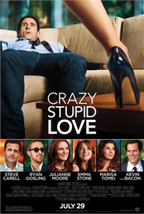 Crazy Stupid Love mini movie poster (Steve Carell Ryan Gosling)