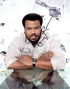 Craig Robinson autographed The Office 8x10 photo