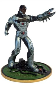 Cyborg Heavy Metals 2017 Comic-Con EXCLUSIVE Miniature Figure ONLY 500 NEW IN BOX